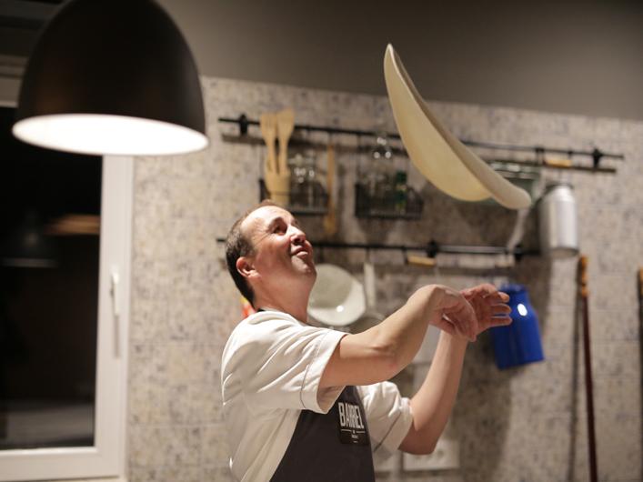 pizza chef dough Barrel